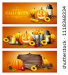 Vector Set Of A Three Halloween ...