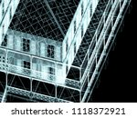 3d architecture  house | Shutterstock . vector #1118372921