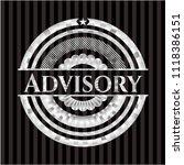 advisory silvery shiny badge | Shutterstock .eps vector #1118386151