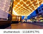 portland oregon downtown... | Shutterstock . vector #1118391791