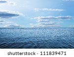 blue sky sun and sea | Shutterstock . vector #111839471