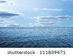 blue sky sun and sea | Shutterstock . vector #111839471