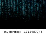 vector  background with dots.... | Shutterstock .eps vector #1118407745