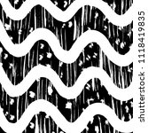 wavy lines pattern. abstract... | Shutterstock .eps vector #1118419835