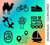 vector icon set  about... | Shutterstock .eps vector #1118423465