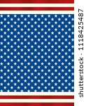 an american background for a... | Shutterstock .eps vector #1118425487
