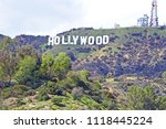 hollywood california   march 25 ... | Shutterstock . vector #1118445224