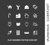 modern  simple vector icon set...   Shutterstock .eps vector #1118451437