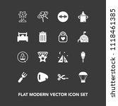 modern  simple vector icon set... | Shutterstock .eps vector #1118461385