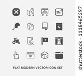 modern  simple vector icon set...   Shutterstock .eps vector #1118465297
