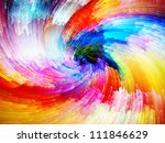 Color Swirls Series. Creative...
