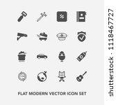 modern  simple vector icon set... | Shutterstock .eps vector #1118467727
