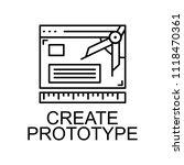 create prototype icon. element...