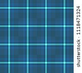 seamless plaid check tartan...   Shutterstock .eps vector #1118471324