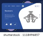 quality one page revolvers... | Shutterstock .eps vector #1118496857