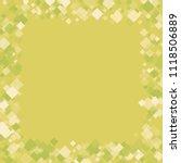 rhombus shape minimal geometric ... | Shutterstock .eps vector #1118506889