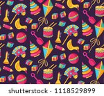 cute children toys icons doodle ... | Shutterstock .eps vector #1118529899