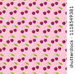 seamless pattern with double... | Shutterstock . vector #1118549381
