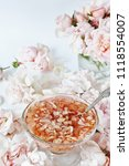 jam from roses  delicate pink.... | Shutterstock . vector #1118554007