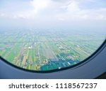 sky view looking from  on top... | Shutterstock . vector #1118567237