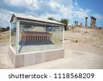 the ancient city of assos and... | Shutterstock . vector #1118568209