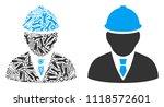 engineer composition of repair... | Shutterstock .eps vector #1118572601