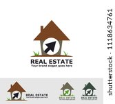real estate nature logo | Shutterstock .eps vector #1118634761