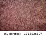 old and dirty brown leather... | Shutterstock . vector #1118636807