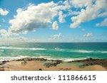 Champagne Pools  Fraser Island...