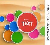 abstract vector background | Shutterstock .eps vector #111867029