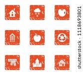 green worldwide icons set.... | Shutterstock .eps vector #1118693801