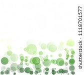 bubbles circle dots unique... | Shutterstock .eps vector #1118701577