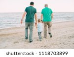 family  parents  grandparents... | Shutterstock . vector #1118703899