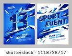 vector layout design template... | Shutterstock .eps vector #1118738717
