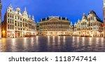 panoramic view of beautiful... | Shutterstock . vector #1118747414