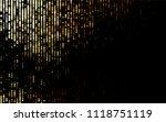 dark orange vector  texture... | Shutterstock .eps vector #1118751119