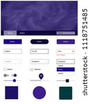 dark purple  pink vector ui ux...