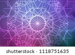 light purple  pink vector... | Shutterstock .eps vector #1118751635