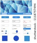 light blue vector material...