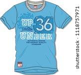vector t shirt design for... | Shutterstock .eps vector #1118757971