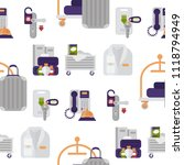 hotel workers personal... | Shutterstock .eps vector #1118794949