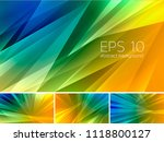 fractal abstract background.... | Shutterstock .eps vector #1118800127