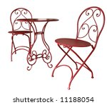 Two Decorative Chairs And A...