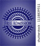 free admission jean background | Shutterstock .eps vector #1118839511