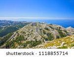 biokovo park  croatia  dalmatia ... | Shutterstock . vector #1118855714