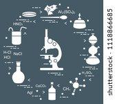 chemistry scientific  education ... | Shutterstock .eps vector #1118866685