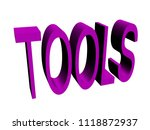 tools button isolated  3d... | Shutterstock . vector #1118872937