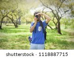 a tourist's taking photo | Shutterstock . vector #1118887715
