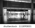 passenger at the airport ... | Shutterstock . vector #111890831