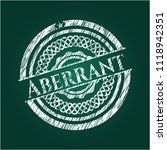 aberrant with chalkboard texture   Shutterstock .eps vector #1118942351